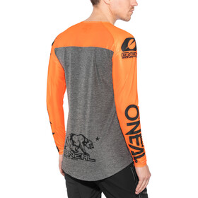 ONeal Mayhem Lite Bike Jersey Longsleeve Men Hexx grey/orange